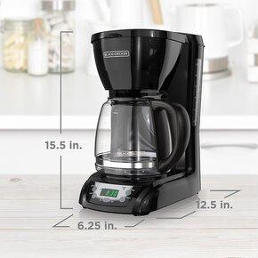 Black+Decker 12 Cup Programmable Coffee Maker review - Specs