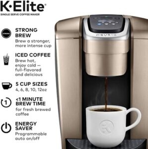 Keurig K Elite coffee maker value