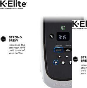 Keurig K Elite coffee maker Strong mode