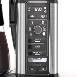 Ninja Specialty Coffee Maker review - Control Panel